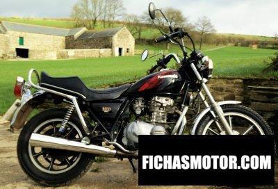 Imagen moto Kawasaki z 440 ltd belt drive año 1984