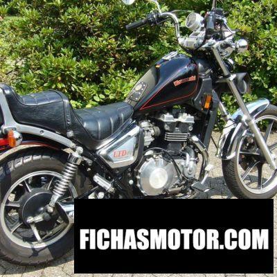 Ficha técnica Kawasaki z 450 ltd 1984