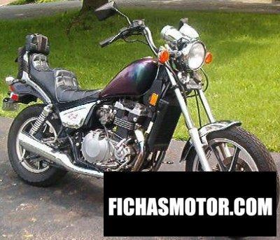 Ficha técnica Kawasaki z 450 ltd 1985