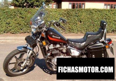 Imagen moto Kawasaki z 450 ltd año 1986
