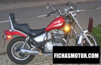 Imagen moto Kawasaki z 450 ltd año 1987