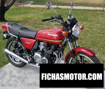 Imagen moto Kawasaki z 550 año 1981