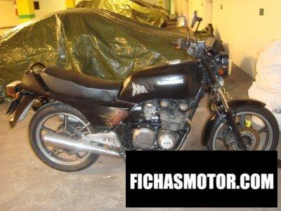 Imagen moto Kawasaki z 550 f año 1985
