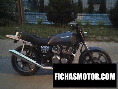 Imagem da motocicleta Kawasaki z 550 gt ano 1983