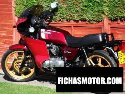 Ficha técnica Kawasaki z 550 gt 1984