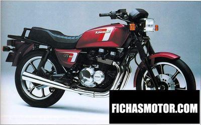Imagen moto Kawasaki z 550 gt año 1989