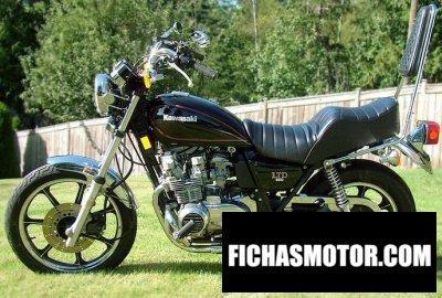 Ficha técnica Kawasaki z 550 ltd 1980