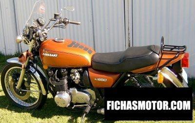 Ficha técnica Kawasaki z 650 1976