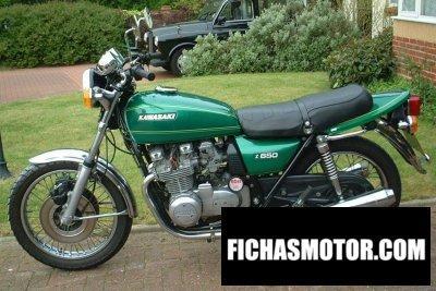 Imagen moto Kawasaki z 650 año 1977