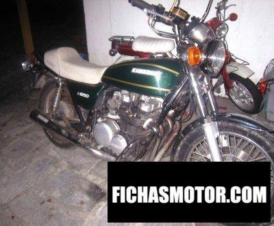 Ficha técnica Kawasaki z 650 1978