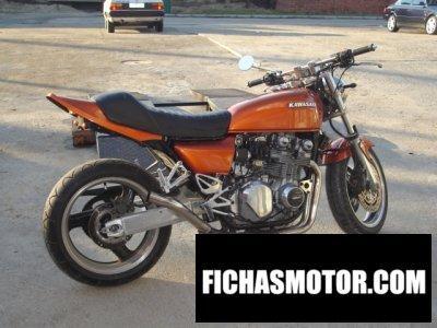 Imagen moto Kawasaki z 650 f año 1982