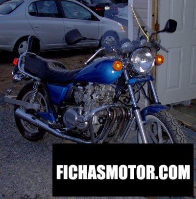 Imagen moto Kawasaki z 650 f año 1983
