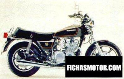 Ficha técnica Kawasaki z 650 sr 1980