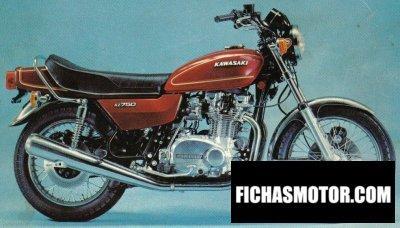 Imagen moto Kawasaki z 750 año 1979
