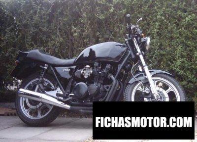 Imagen moto Kawasaki z 750 año 1981