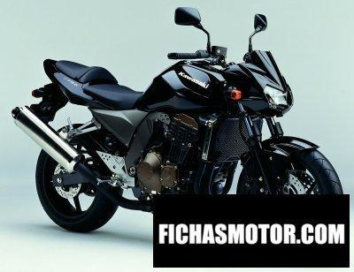 Ficha técnica Kawasaki z 750 2004