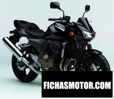 Imagen moto Kawasaki z 750 año 2006