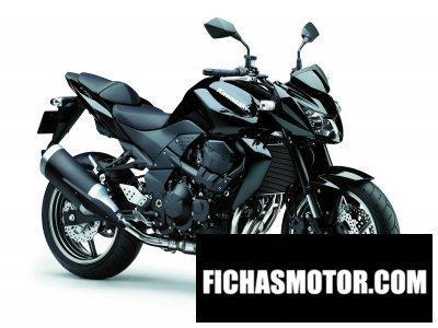 Imagen moto Kawasaki z 750 año 2011
