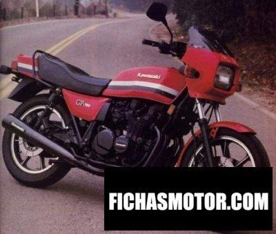 Ficha técnica Kawasaki z 750 gt 1982