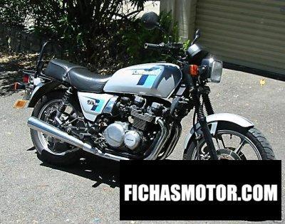 Ficha técnica Kawasaki z 750 gt 1983