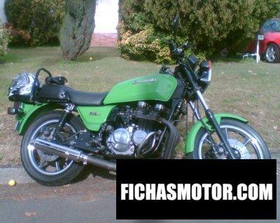 Ficha técnica Kawasaki z 750 gt 1984