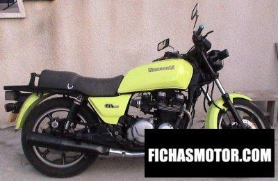Ficha técnica Kawasaki z 750 gt 1986