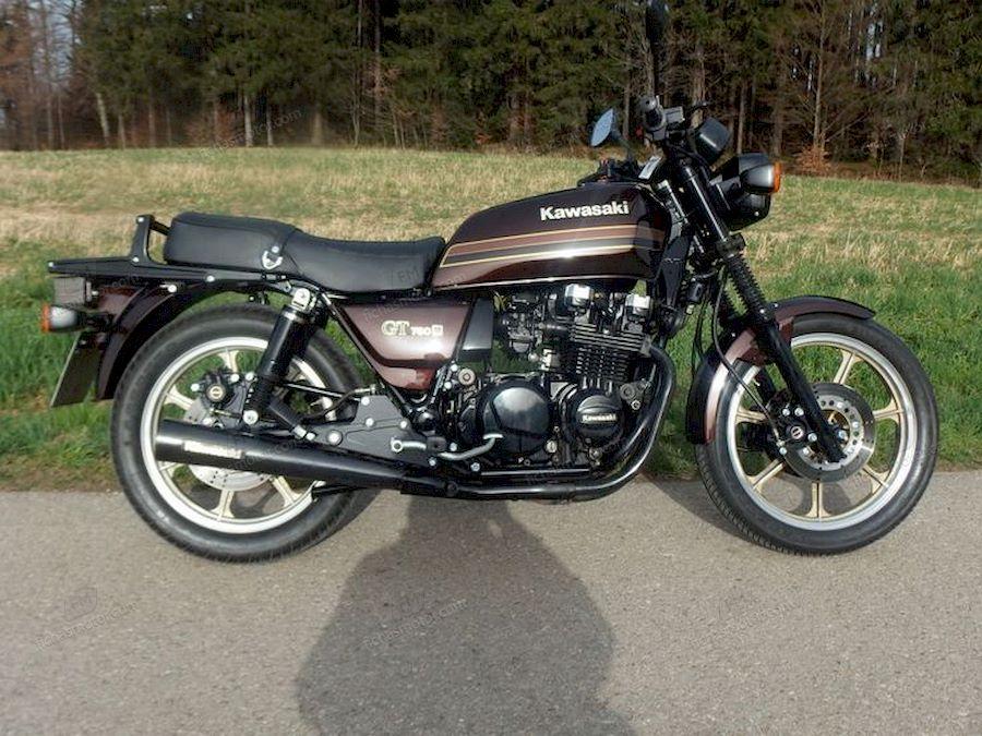 Imagen moto Kawasaki z 750 gt año 1988