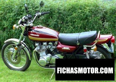 Ficha técnica Kawasaki z 900 1975