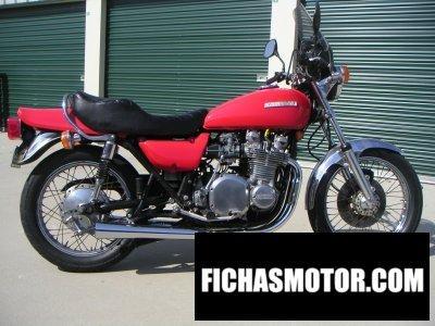 Imagen moto Kawasaki z1-b año 1976