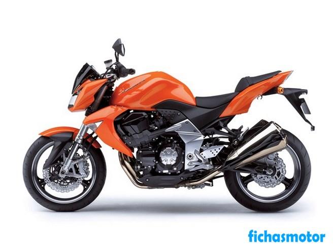 Imagen moto Kawasaki z1000 año 2007