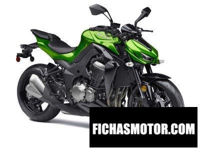 Ficha técnica Kawasaki z1000 2015