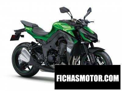 Ficha técnica Kawasaki z1000 2018