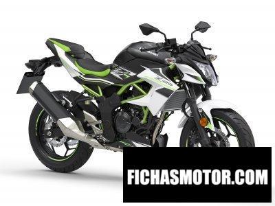 Ficha técnica Kawasaki Z125 2019