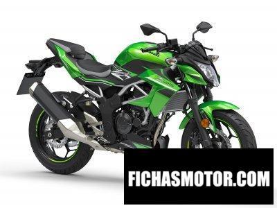 Ficha técnica Kawasaki Z125 2020