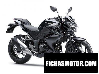 Ficha técnica Kawasaki z250 2016