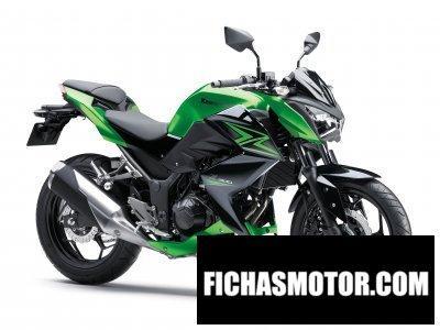 Ficha técnica Kawasaki z300 2015