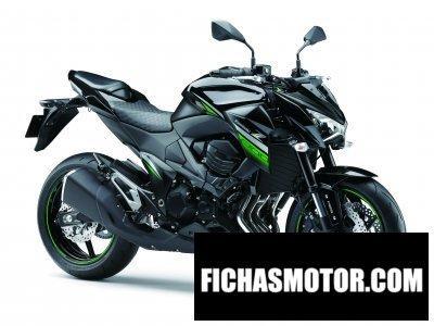 Imagen moto Kawasaki z300 año 2016