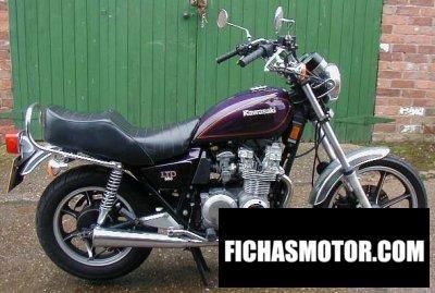 Imagen moto Kawasaki z550 ltd año 1982