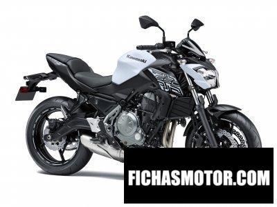 Ficha técnica Kawasaki Z650 2019
