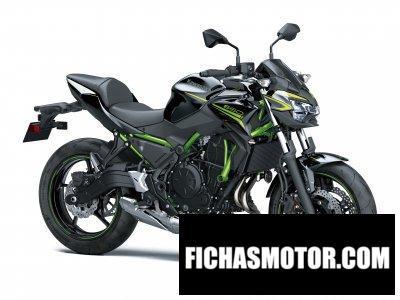 Imagen moto Kawasaki Z650 año 2020