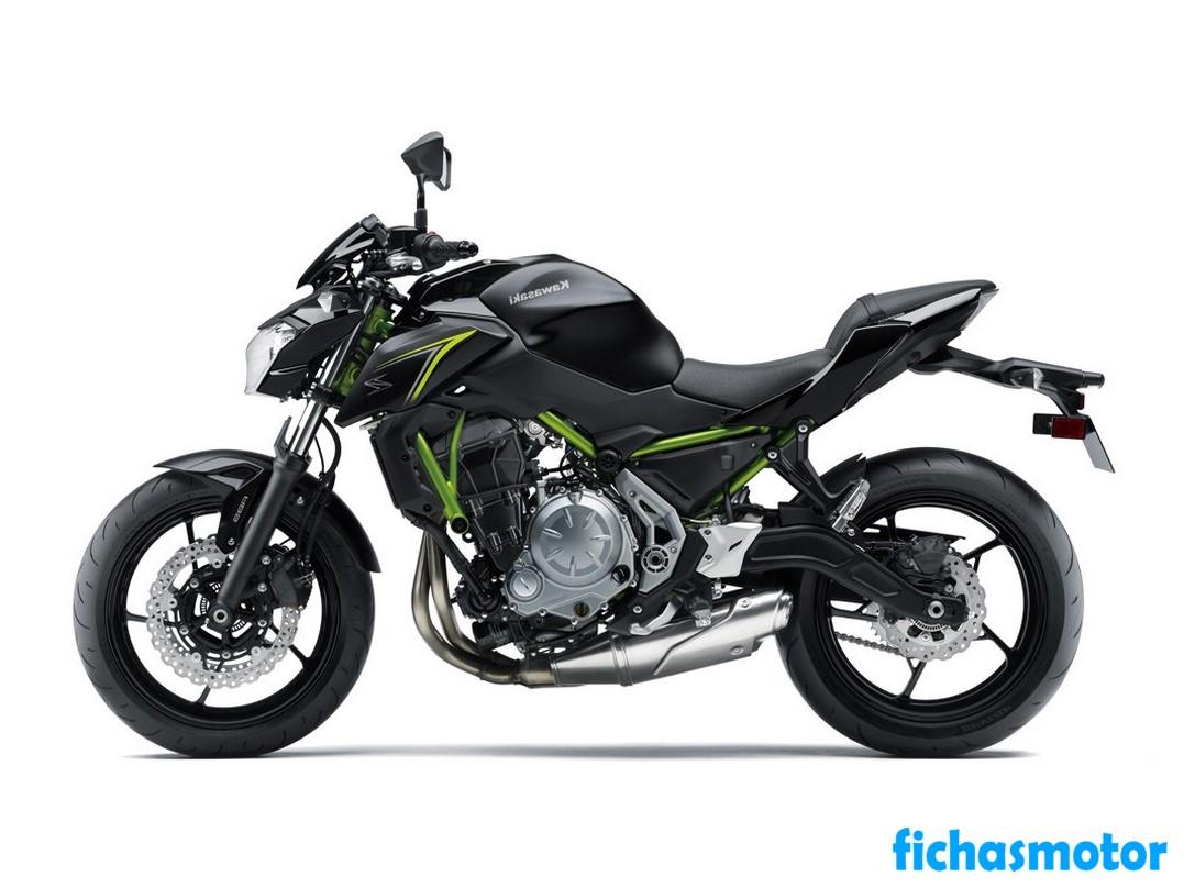 Imagen moto Kawasaki z650 abs año 2018