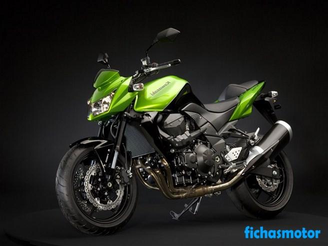 Imagen moto Kawasaki z750 año 2008