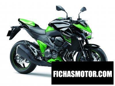 Ficha técnica Kawasaki z800 2014