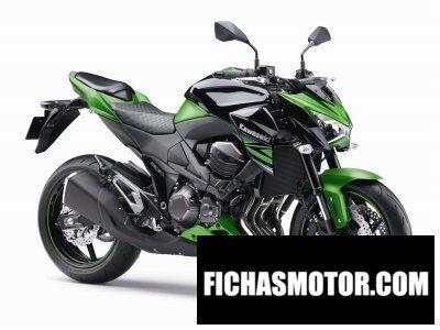 Imagen moto Kawasaki z800 año 2015