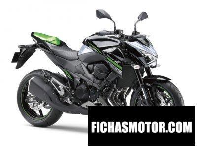 Ficha técnica Kawasaki z800 2017