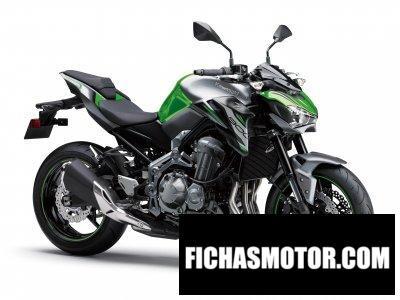 Ficha técnica Kawasaki Z900 (70 kW) 2019