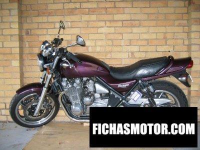 Imagen moto Kawasaki zephyr 1100 año 1992