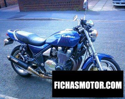 Ficha técnica Kawasaki zephyr 1100 1993