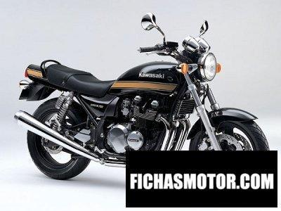 Ficha técnica Kawasaki zephyr 1100 1996