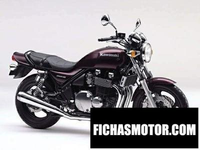 Ficha técnica Kawasaki zephyr 1100 1997